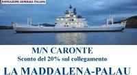 ATTENZIONE – ATTENZIONE – Sconto del 20% sul collegamento La Maddalena-Palau.