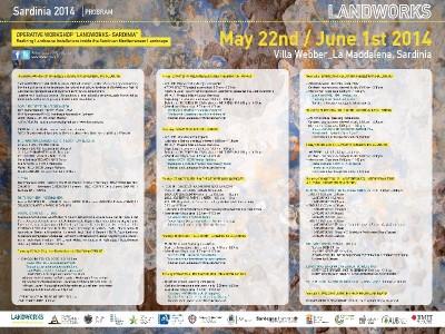 LandWorksSardinia014_VillaWebber_LaMaddalena_22May-1stJune2014_OfficialProgramShort_Poster