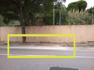 asfalto Via Mirabello