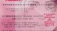 """DONNAVVENTURA. Serata letteraria in ricordo della Dott.ssa Graziella D'Angelo ore 17.30 Biblioteca Comunale nell'ambito della manifestazione: """"Corri con Women in Run contro la violenza sulle donne"""", organizzata […]"""