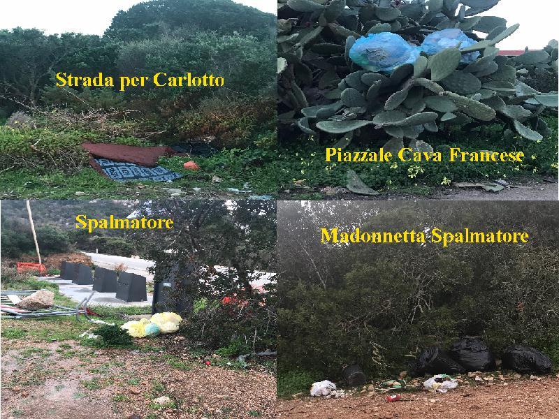 collage rifiuti
