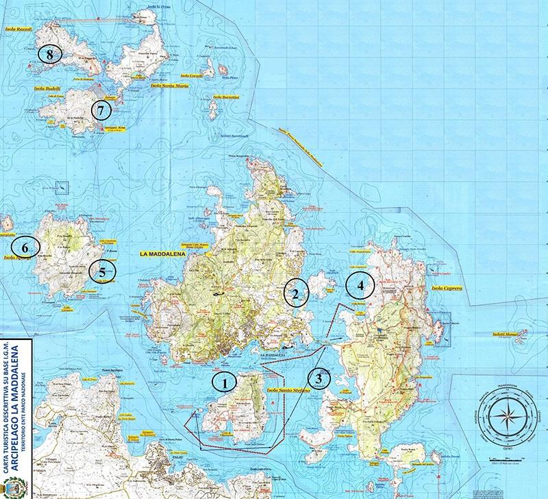 Isole Sardegna Cartina.Un Arcipelago Senza Plastica Liberissimo Net Notizie In Tempo Reale Isola Di La Maddalena Sardegna News Flash Attualita Inchieste Sport Comunicati Stampa