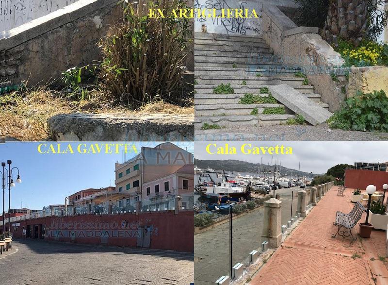 CALA GAVETTA E EX ARTIGLIERIA
